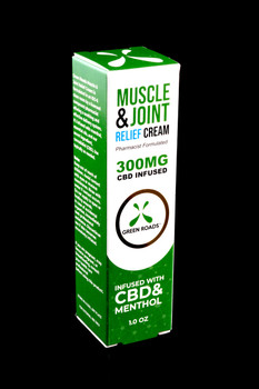300mg 1oz CBD Pain Cream - CBD183