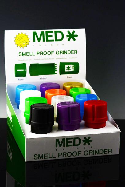 (US Made) MedTainer Smell Proof Grinder Jar - J131