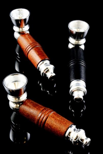 Wood Sleeve Metal Pipe - MP164
