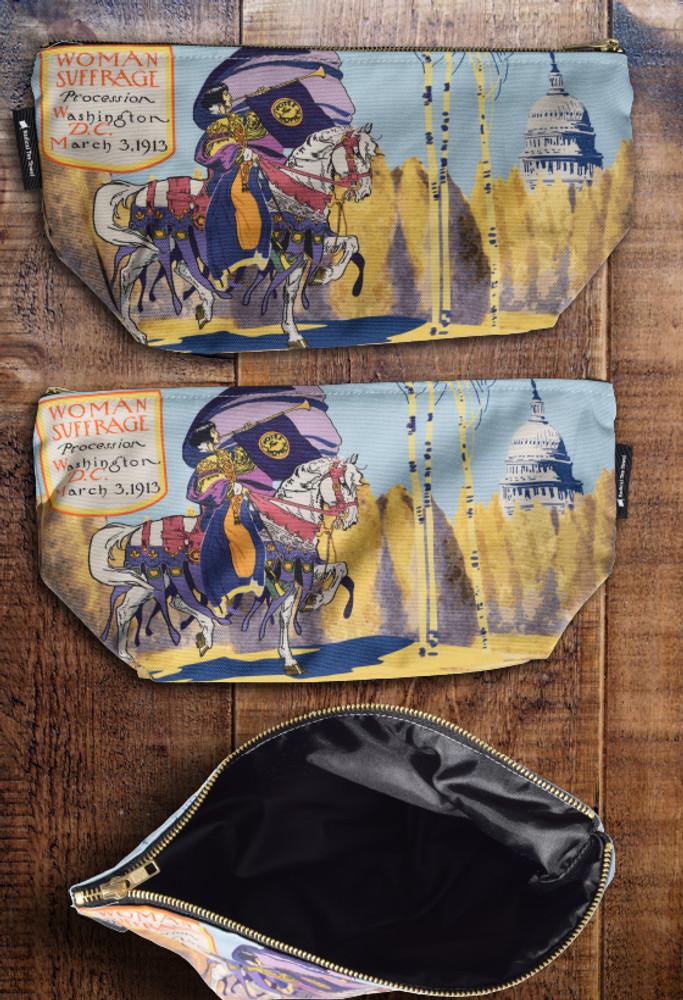 Washington Suffrage premium wash bag