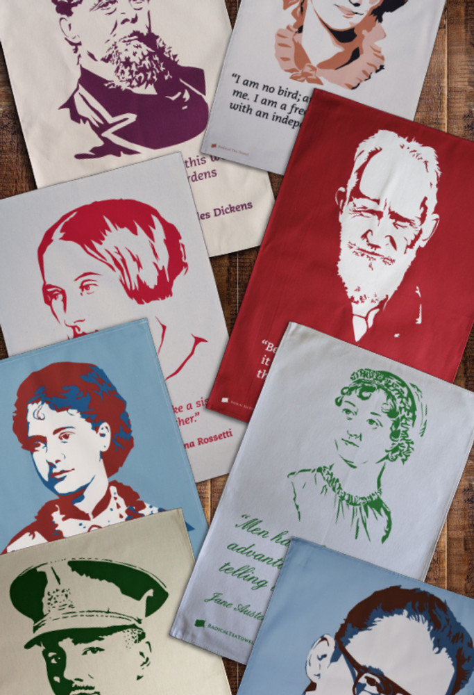 Tea Towel Subscription: Literary Radicals