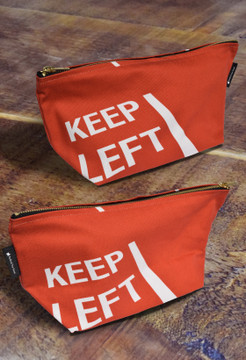 Keep Left premium wash bag