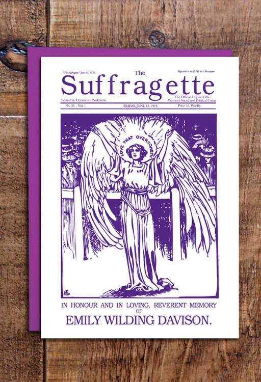 Emily Davison cards pack of 8
