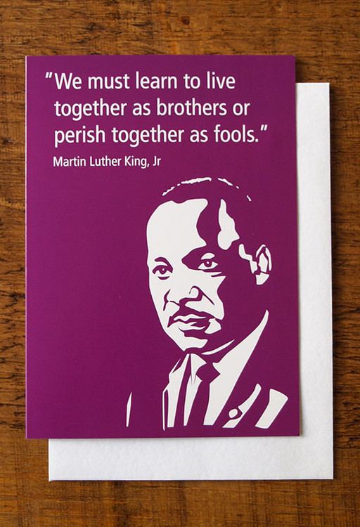 Martin Luther King cards pack of 8