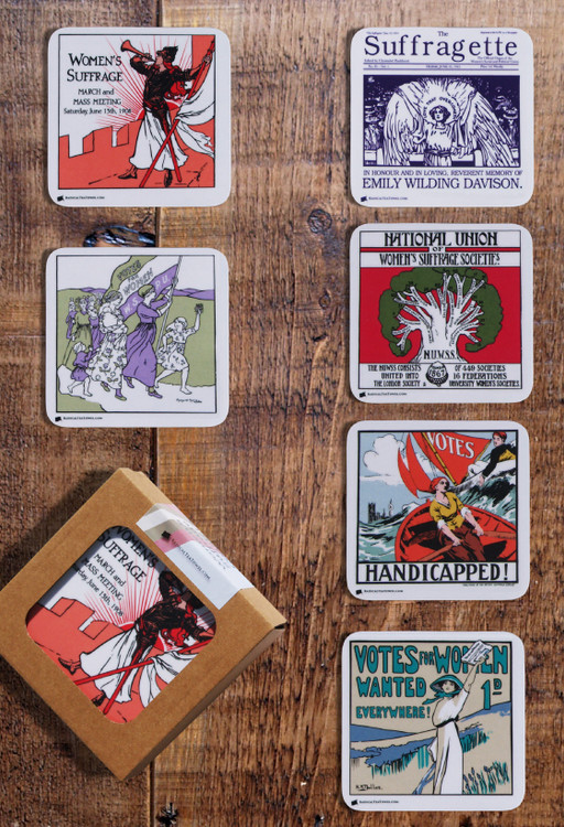 Suffrage coaster collection