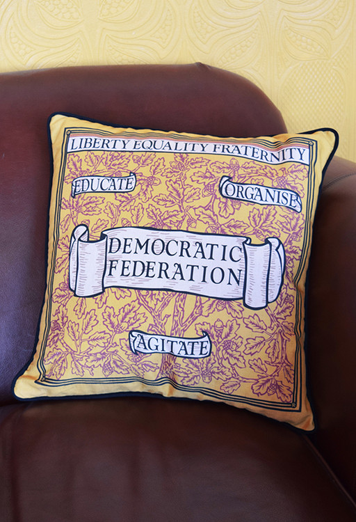 Liberty, Equality, Fraternity cushion cover