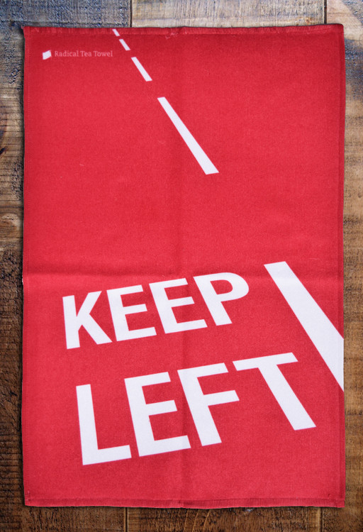 Keep Left gym / hand towel