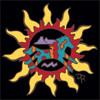 6x6 Tile Southwest Sun with Southwest Horse 8349A