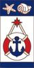 3x6 Tile Nautical Anchor Left