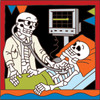 6x6 Tile Day of the Dead Flatline 7803A