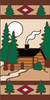 3x6 Tile Lodge Cabin Right