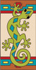 3x6 Tile Southwest Gecko Left