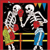 6x6 Tile Day of the Dead Boxers 7593A