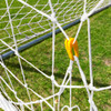 8x24 Twisted Soccer Net Set - White