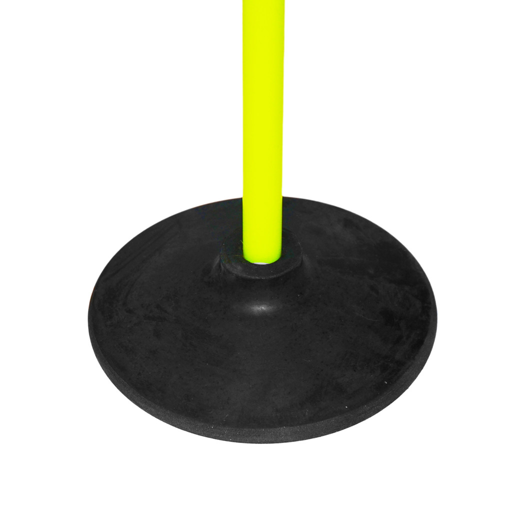Speed Pole with Small Black Rubber Base