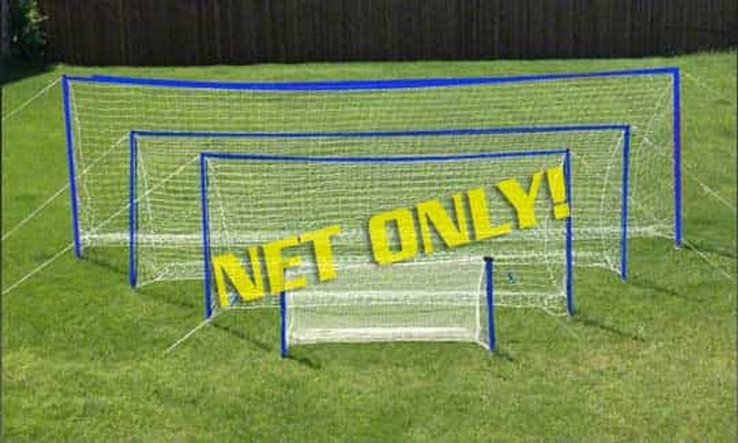 Goal Net For Soccer Wall Poles 6x18 (Net Only)