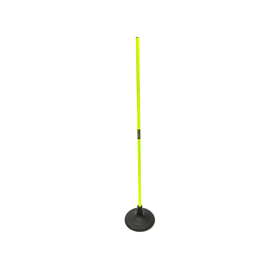 Speed Pole with Jumbo Rubber Base