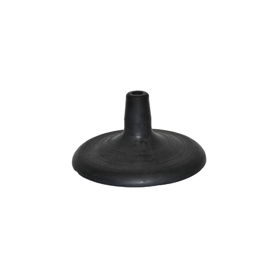 25mm Jumbo Black Rubber Base