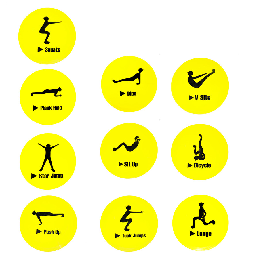 Soccer Exercise Markers