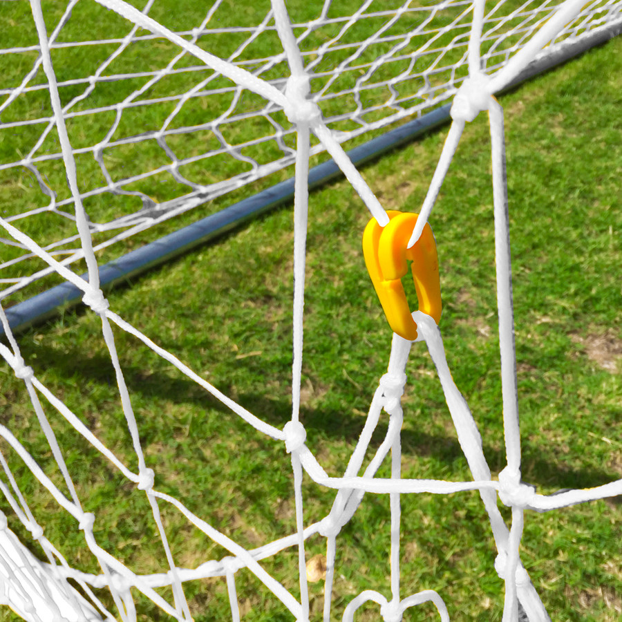 8x24 Braided Soccer Net Sets - Multiple Colors