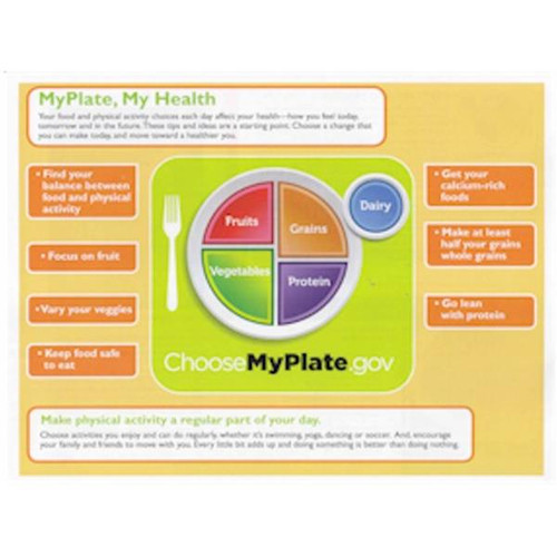 MyPlate tear pad