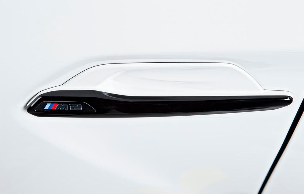 M2 M Performance Gloss Black Side Grilles