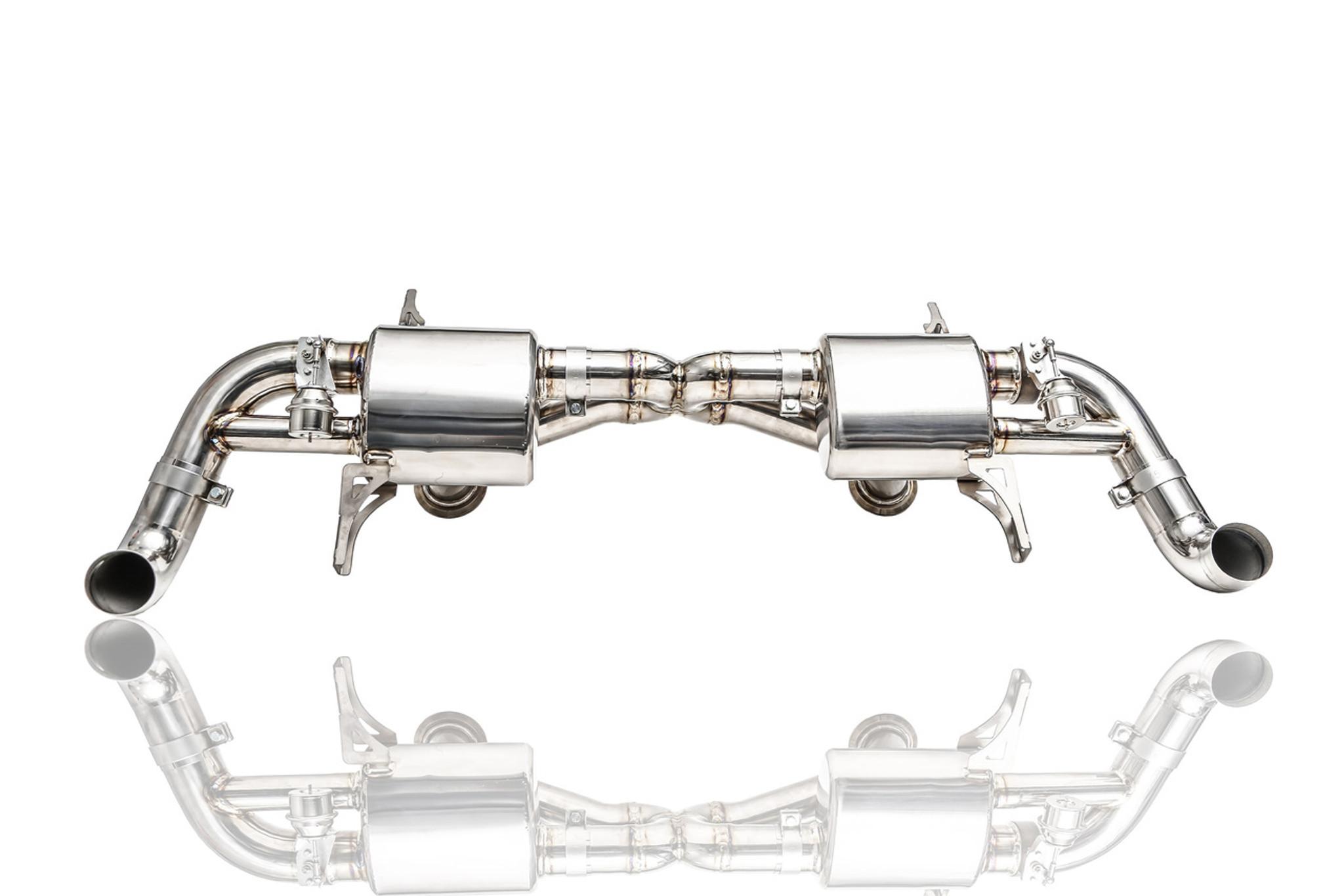 Audi R8 V8 IPE Titanium Exhaust