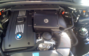 aFe Pro Stage 2 Sealed Cold Air Intake System (N54)