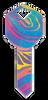 HK7- Rainbow Swirl