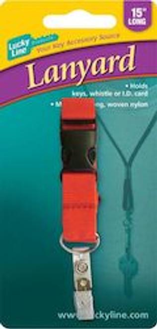 64101: FLAT LANYARD W/BREAKAWAY,1/CD