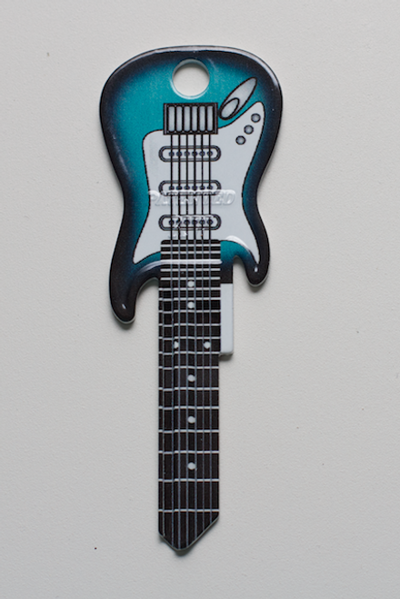 3665-SURF GREEN ELECTRIC FENDER