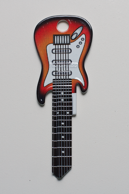 3663-SUNBURST ELECTRIC FENDER