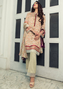 Imperial Grace 3 Piece Resham Twill Linen Collection - 38-OLIVE GREEN