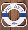 """12"""" Personalized Lettering Life Preserver Plaque"""
