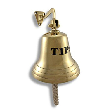 Solid Brass Tip Bell