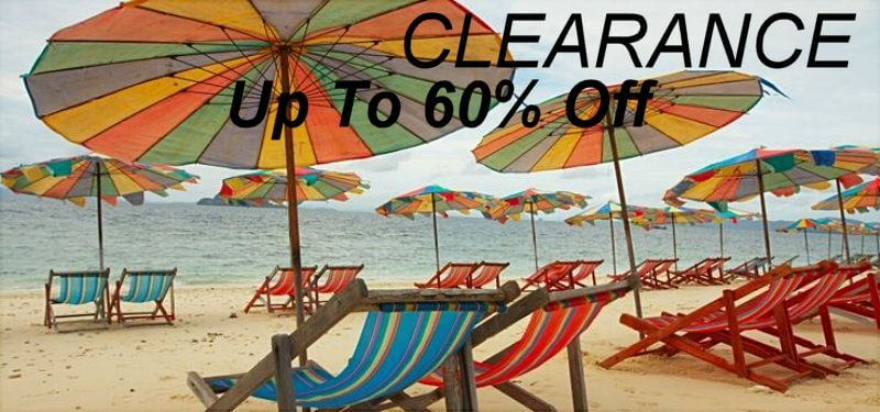 Clearance items Up to 60% Off Image