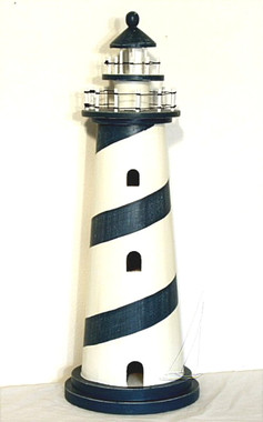 36 Inch Nautical Wood Lighthouse