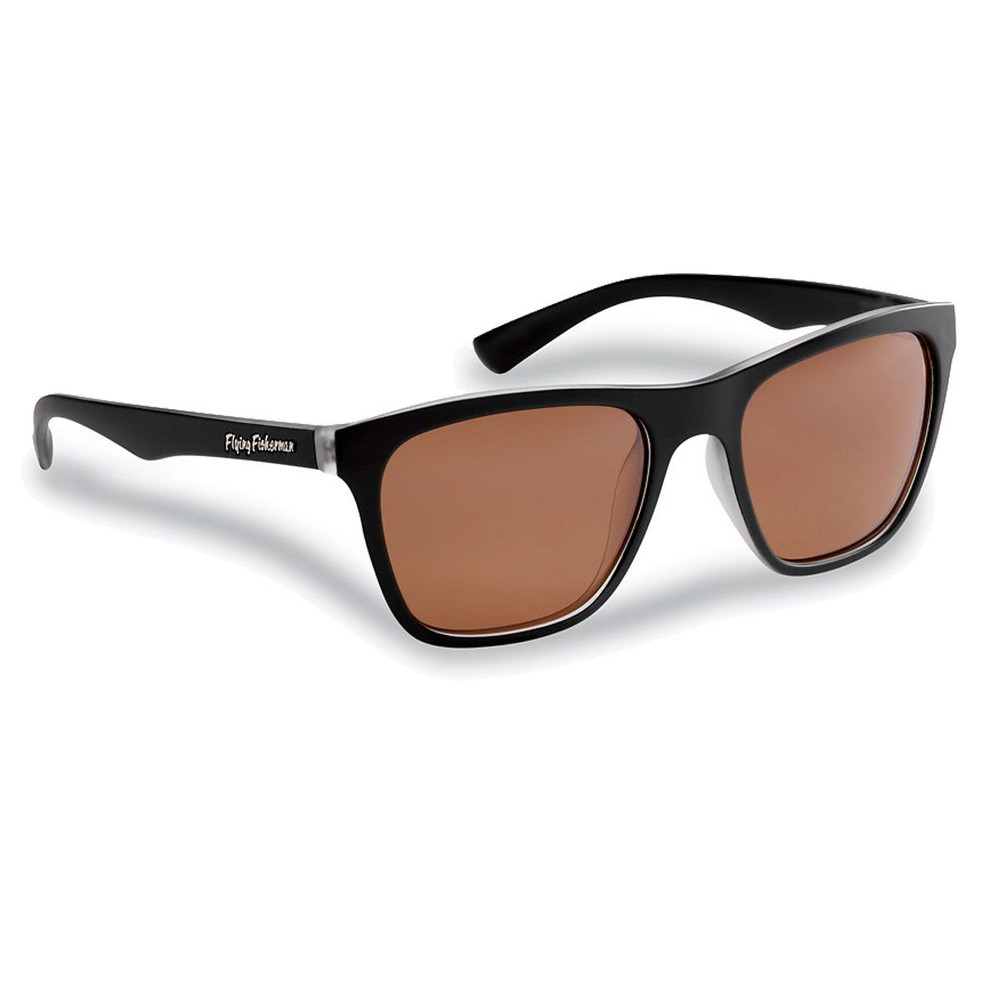 Lentes Flying Fisherman Fowey Marco Crystal-Matter Black