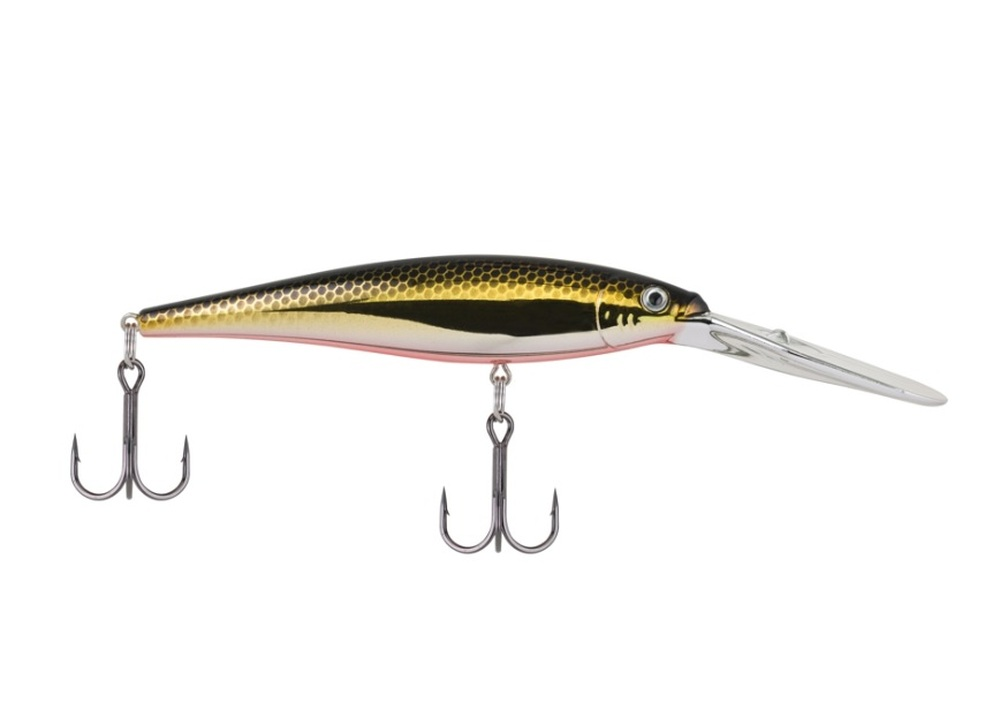 Señuelo Berkley Flicker Minnow - Black Brass