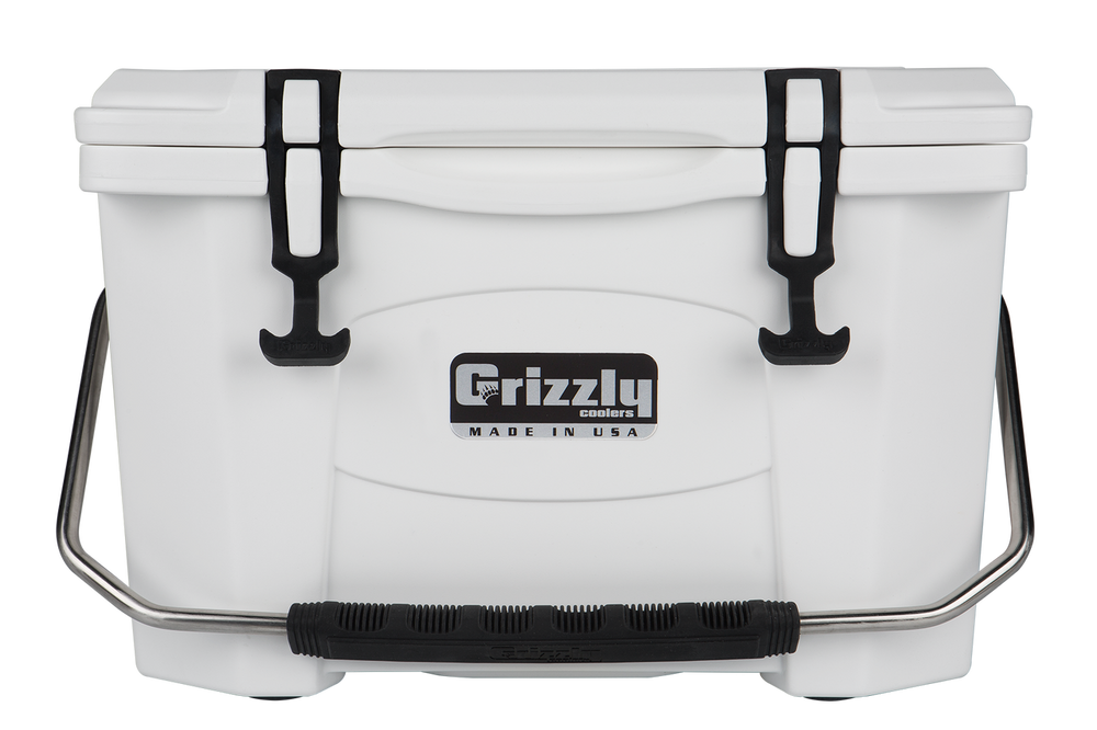 Hielera Grizzly 20 - White