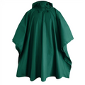 Poncho Red Ledge Storm Unisex - Emerald