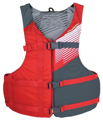 Chaleco Stohlquist Fit para Niño - Rojo