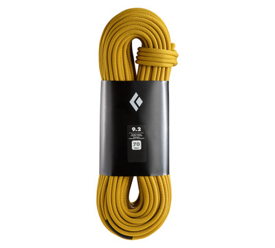 Cuerda Dinámica Black Diamond 9.2 para Escalada 70m