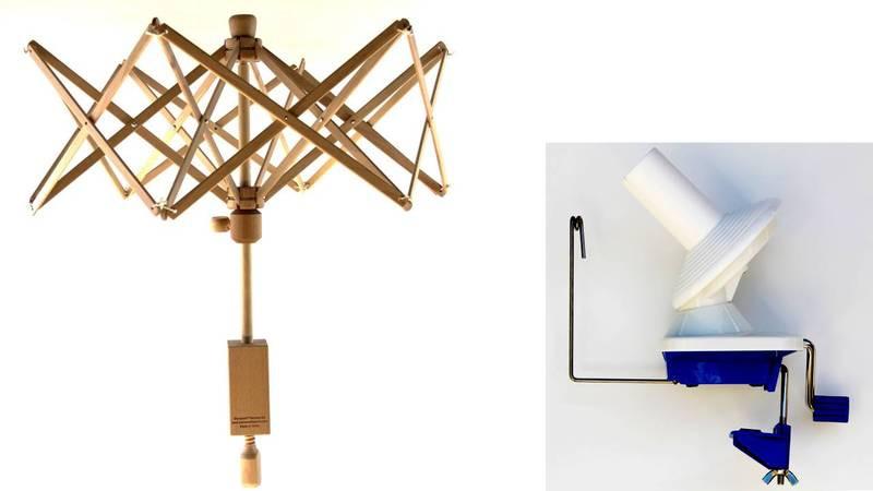 Stanwood Needlecraft - Medium Umbrella Yarn Swift / Ball Winder YBW-A Combination #1