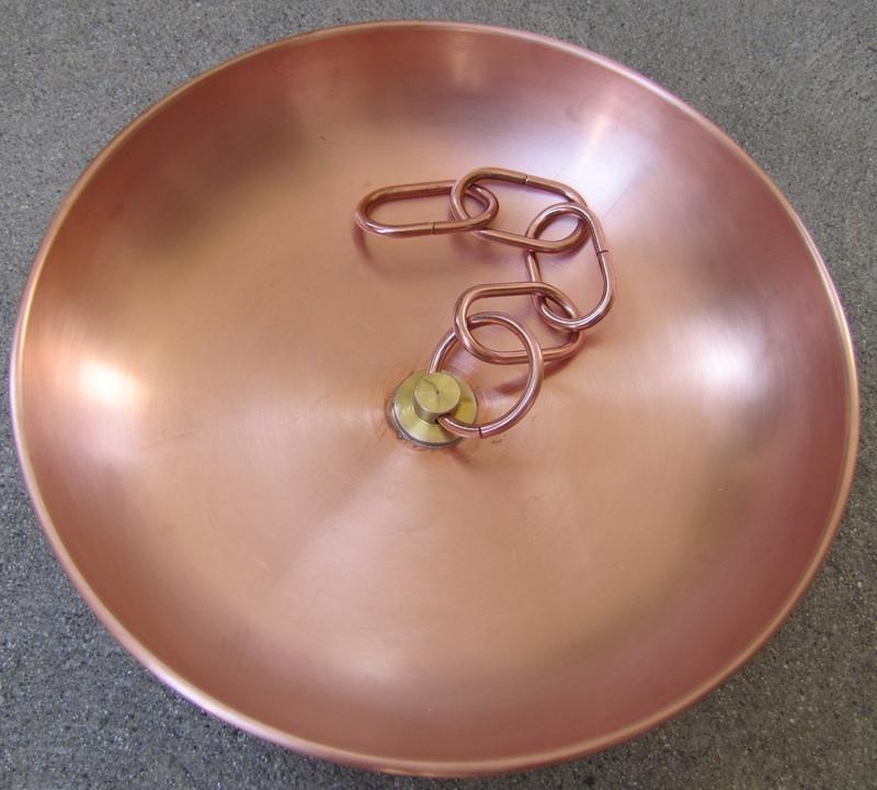 Stanwood Rain Chain - Copper Basin/Bowl for Rain Chain