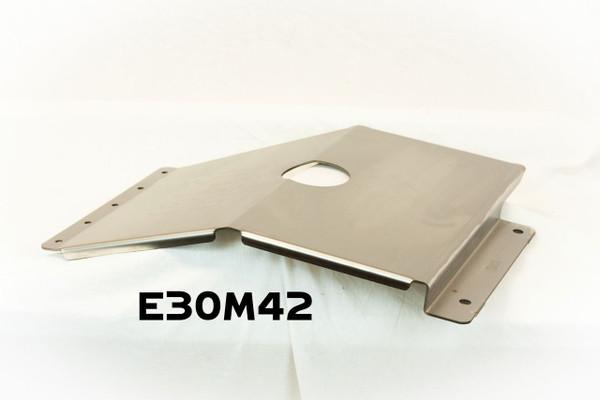 BMW E30 Sump Armor - Skid Plate M42
