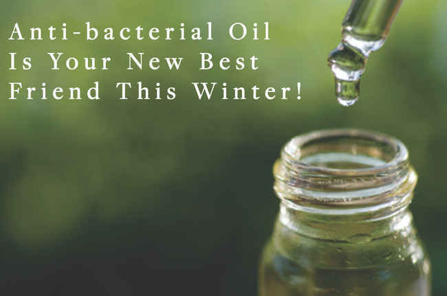 Make our antibacterial oils your best friend this cold season!