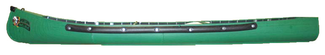 16 Wide Stern Canoe By Sportspal Side View