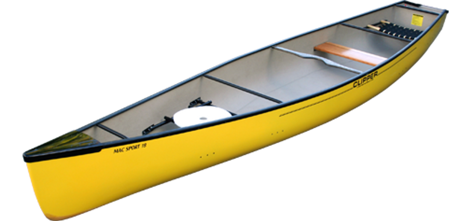 Mac Sport 18 Square Stern By Clipper Canoes Western