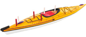 Kayak Cribbage Board